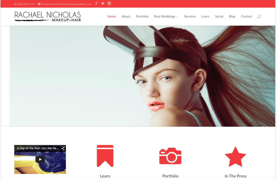 Rachael Nicholas MakeUp + Hair